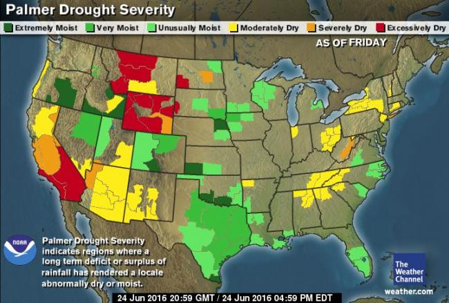 Palmer Drought Severity