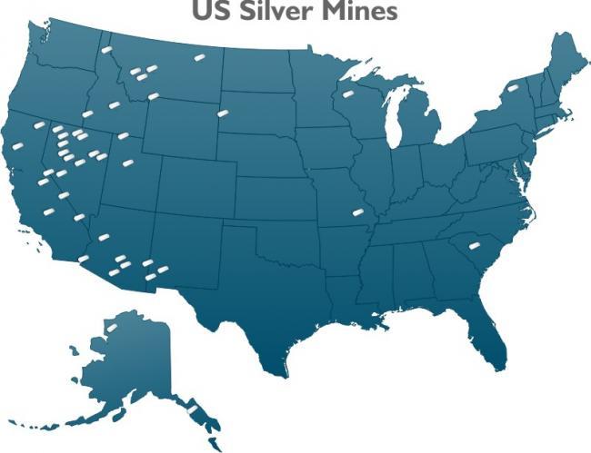 U.S. silver mines