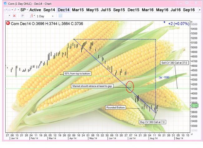 Trading corn futures strategies
