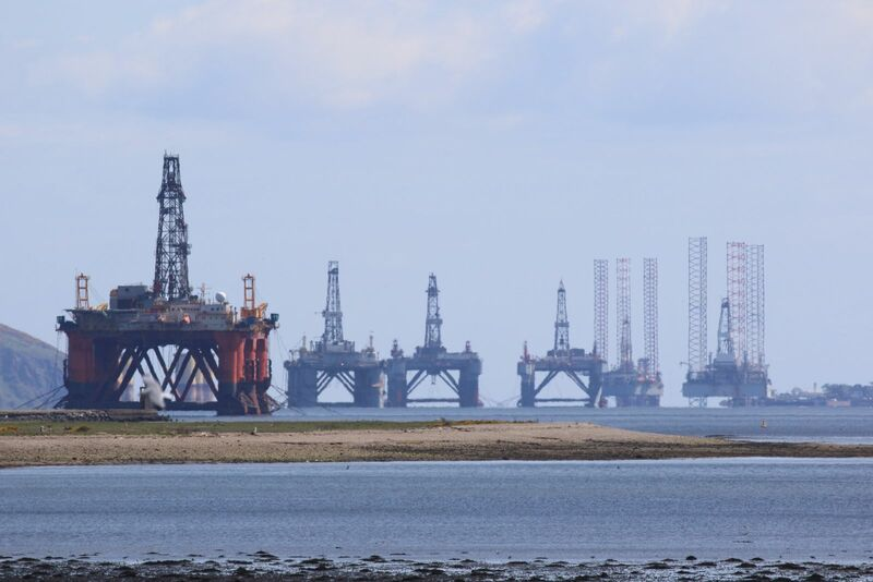 Energy - Jack up Drilling Rigs off Coast