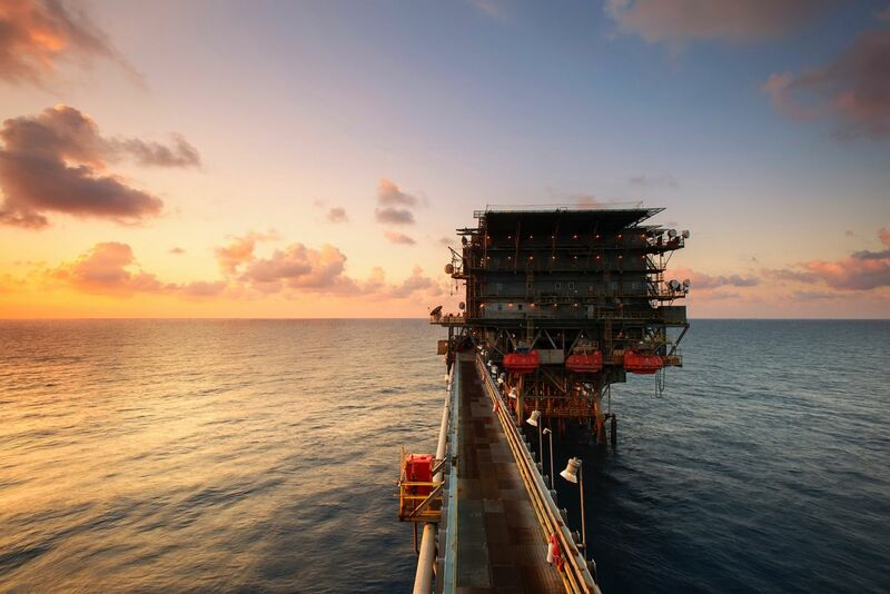 Energy - Offshore Drilling Rig
