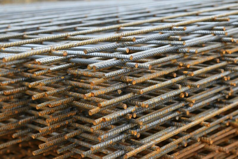 Metals - Stacked Iron Rods