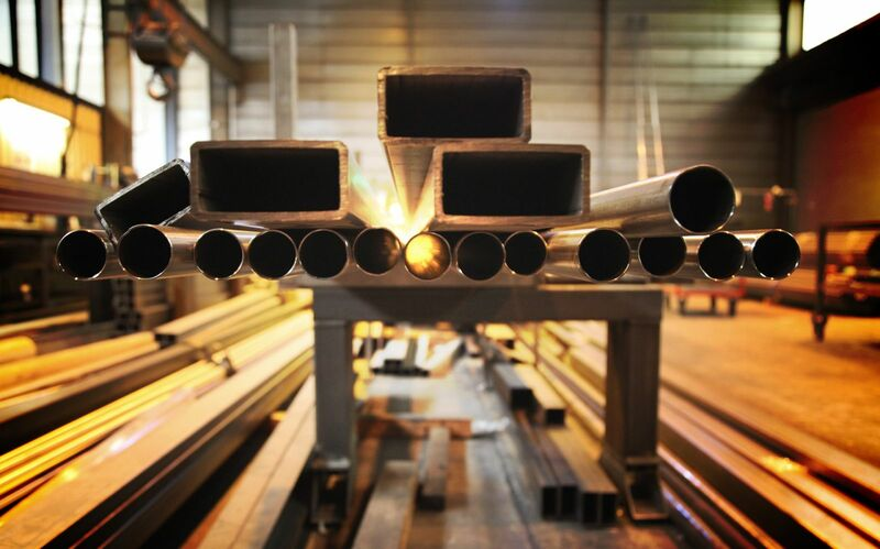 Metals - Steel Tubes in Production Plant