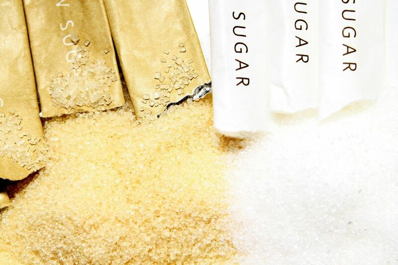 Softs - Packets of White and Brown Sugar