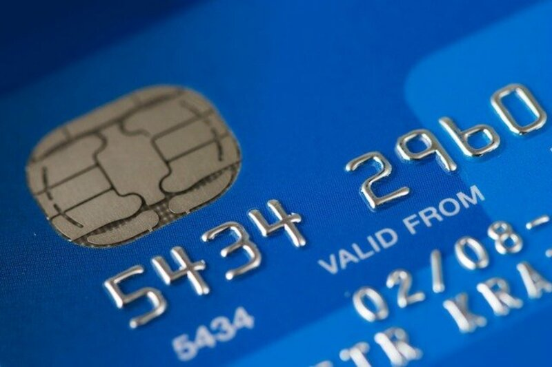 Stocks-Money-Rates - Credit Card Zoomed Single Blue