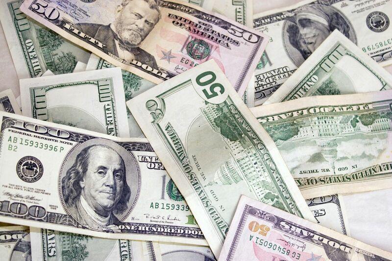 Stocks-Money-Rates - Pile of Money