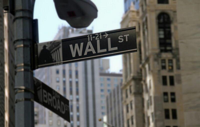 Stocks-Money-Rates - Wall Street Sign NYSE